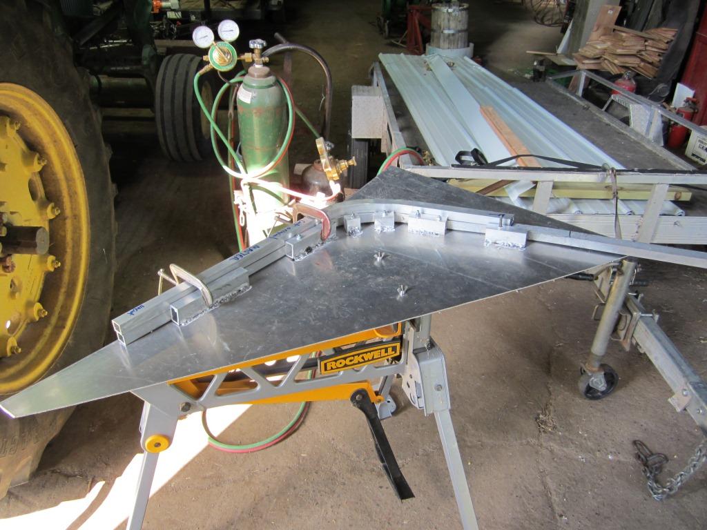 Aluminum Hardside boat blind build   Refuge Forums