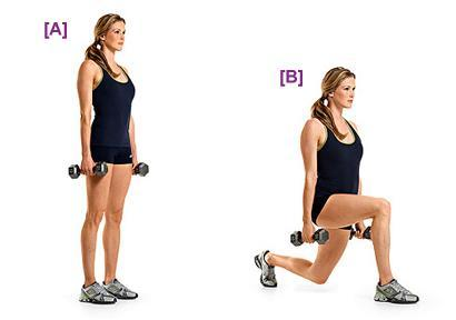 Image result for Reverse Lunges  exercise