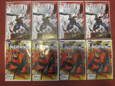 Nightwing and Deathstroke times four by Kyle Higgins on Paul Gale Network