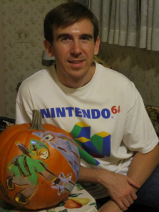 The Legend of Zelda: Skyward Sword pumpkin on Paul Gale Network