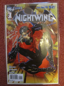 Nightwing signed by Kyle Higgins on Paul Gale Network