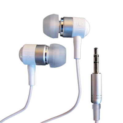 NeoBuds™ Earbud Headphones and Plug