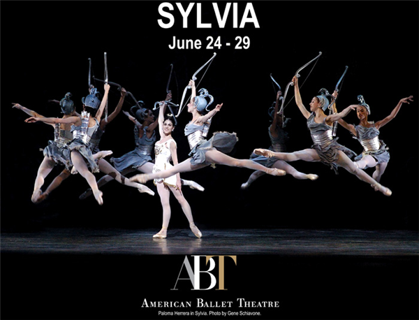 American Ballet Theatre's SYLVIA by Sir Frederick Ashton 6/24-29 @ The Met, NYC