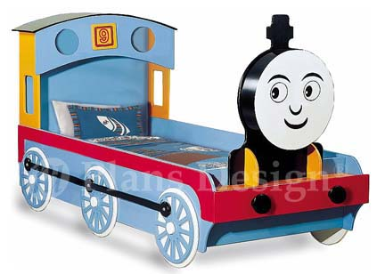 Thomas Train Engine Twin Bed Woodworking Project Plans Do It