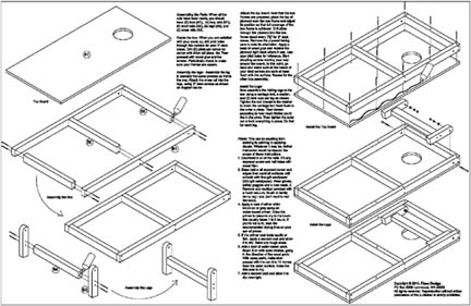 Build Your Own Cornhole Bag Toss Game Board Project Plans