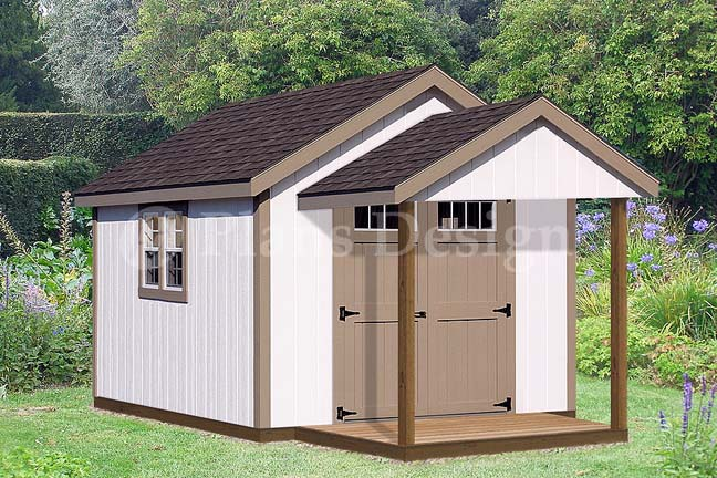 Plans for a shed 10x12 Shed Plan easy