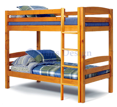 Twin over full bunk bed woodworking plans patterns on for Bunk bed woodworking plans