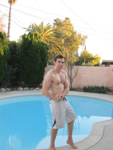 Flexing again for 2012's New Year on Paul Gale Network