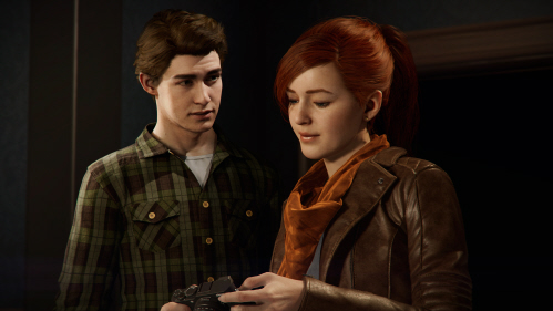 Spider-Man's Peter Parker and Mary Jane Watson on Paul Gale Network