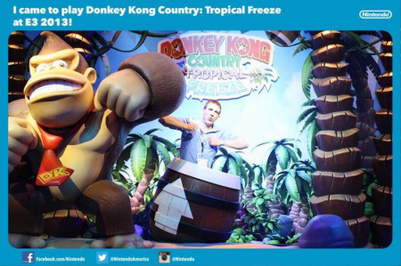 E3 2013 Donkey Kong Country: Tropical Freeze at Nintendo's booth on Paul Gale Network
