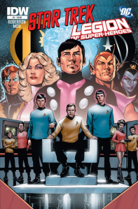 IDW Publishing and DC Comics present Star Trek Legion of Super-Heroes on Paul Gale Network