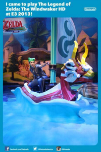 E3 2013 The Legend of Zelda: The Wind Waker HD at Nintendo's booth on Paul Gale Network