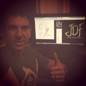 Jason David Frank and Jenna Rae Frank like their final logos created by Paul Gale Network