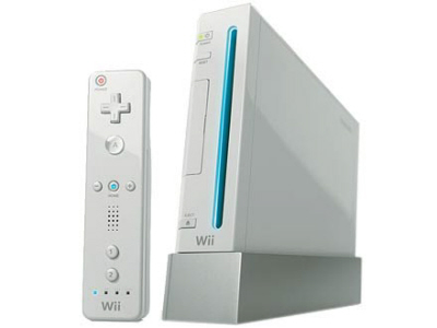 Wii console on Paul Gale Network