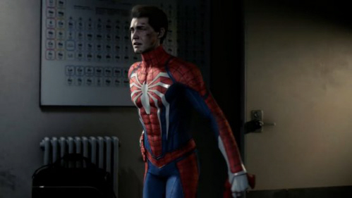 Peter Parker as Spider-Man is such an important piece of this game as seen here on Paul Gale Network