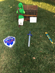 Bryson Paul Gale as Link from The Legend of Zelda: Breath of the Wild, finding out that he's going to be a big brother Part 10 on Paul Gale Network