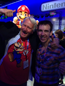 Charles Martinet at E3 2014 on Paul Gale Network