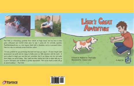 Lisek's Great Adventure the new hit children's book by Paul Gale Network