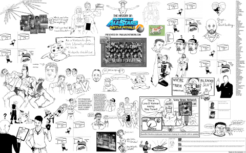 Grand PlayStation All-Stars Battle Royale poster on Paul Gale Network