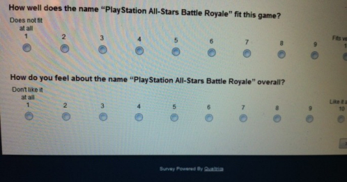 Title Fight PlayStation All-Stars Battle Royale on Paul Gale Network