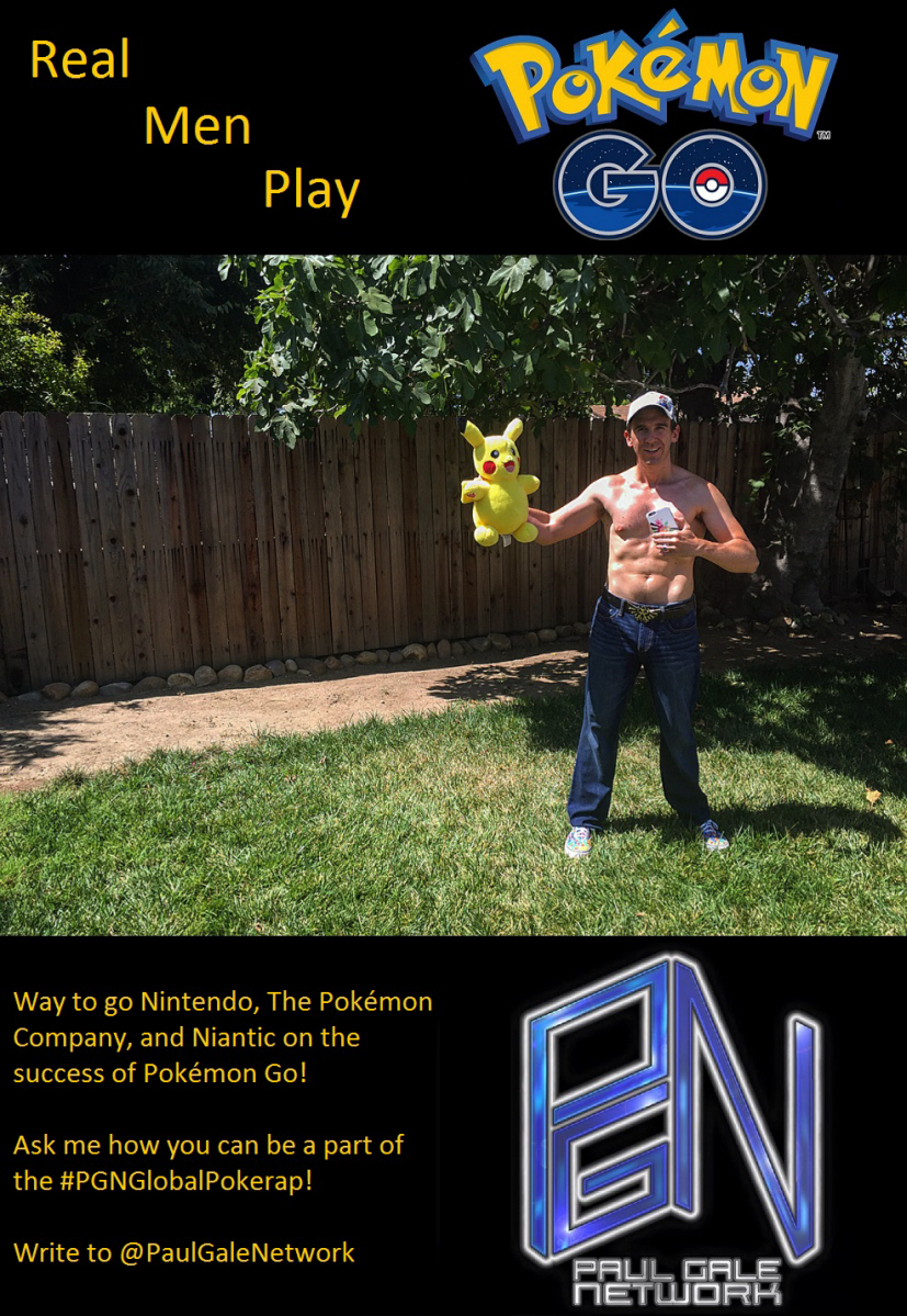 Pokémon Go fitness meme for Nintendo on Paul Gale Network.
