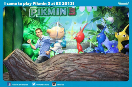 E3 2013 Pikmin 3 at Nintendo's booth on Paul Gale Network