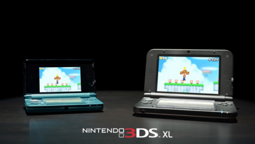Nintendo 3DS XL on Paul Gale Network
