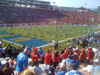 What A Good Time At The Rose Bowl Today Saw The Ucla Vs