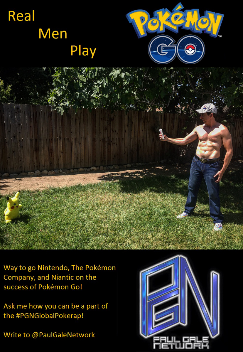 Pokémon Go exercise meme for Nintendo on Paul Gale Network