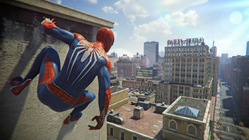 Spider-Man has a great open world as seen here, on Paul Gale Network