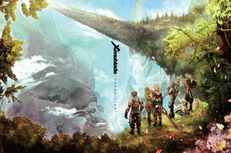 Xenoblade Chronicles cover 2 on Paul Gale Network