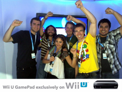 Wii U event in Los Angeles on Paul Gale Network