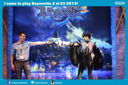 E3 2013 Bayonetta 2 at Nintendo's booth on Paul Gale Network