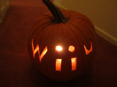 Wii U pumpkin on Paul Gale Network