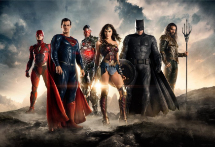 Justice League movie poster on Paul Gale Network