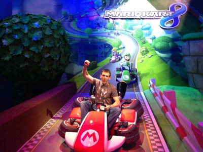 E3 2013 Mario Kart 8 at Nintendo's booth on Paul Gale Network