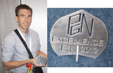 E3 2012 Excellence Award for Ubisoft from Paul Gale Network