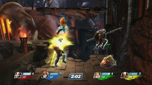 PlayStation All-Stars: Battle Royale gameplay picture on Paul Gale Network