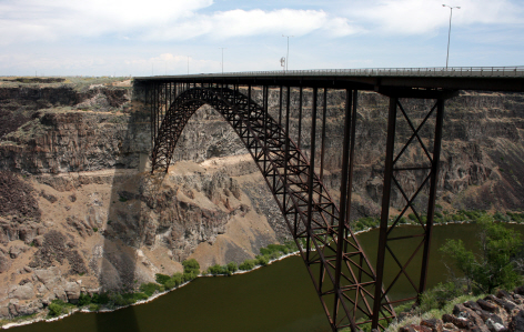 Perrine Bridge in Idaho