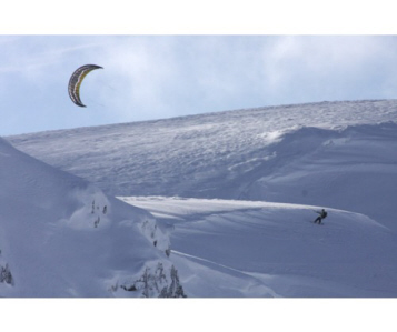 Snow Kiting with Cloud 9 Toys