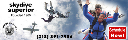 Skydive Superior Founded 1960