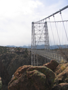 Royal Gorge Bridge in Colorado