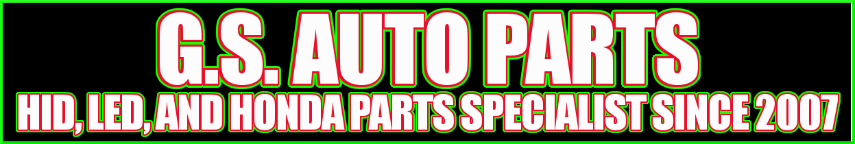 Welcome To G.S. Auto Parts