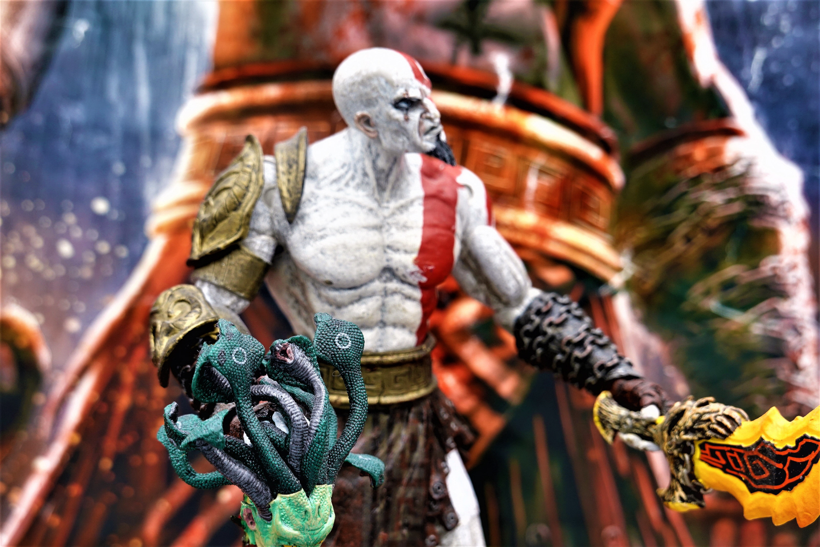 Our God of War Statue / Diorama