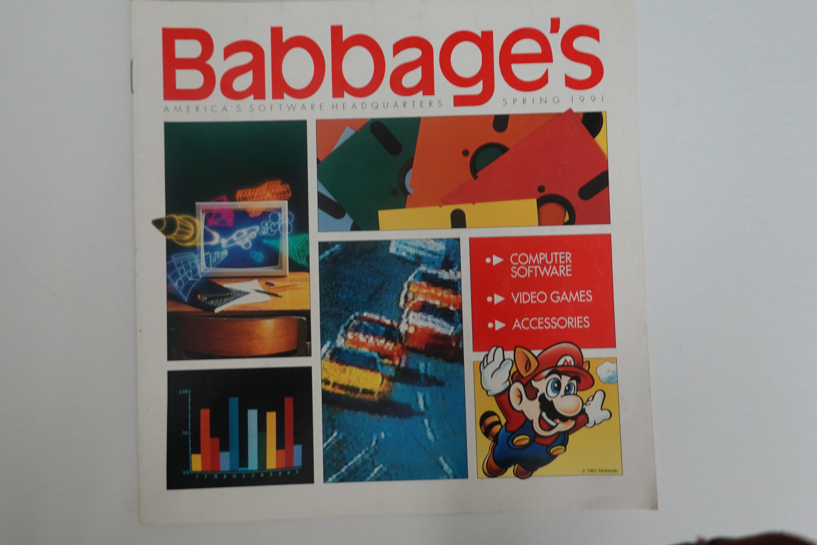 A Look Back: Babbage's 1991 Gaming Catalog