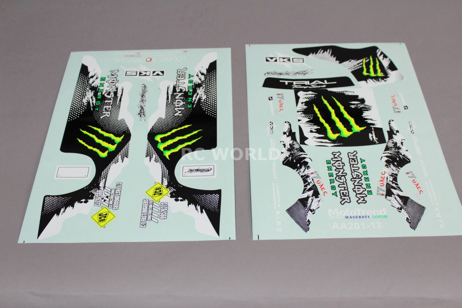 Camaro Monster Truck >> Monster Energy Stickers For Rc Cars - rc car truck racing drift decals stickers monster energy ...