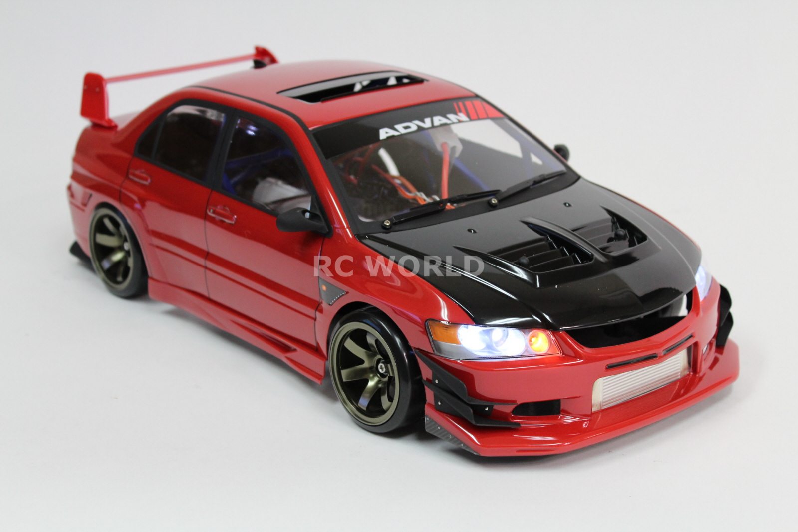 Rc Car Drift Body Shell Mitsubishi Evolution Evo W Voltex