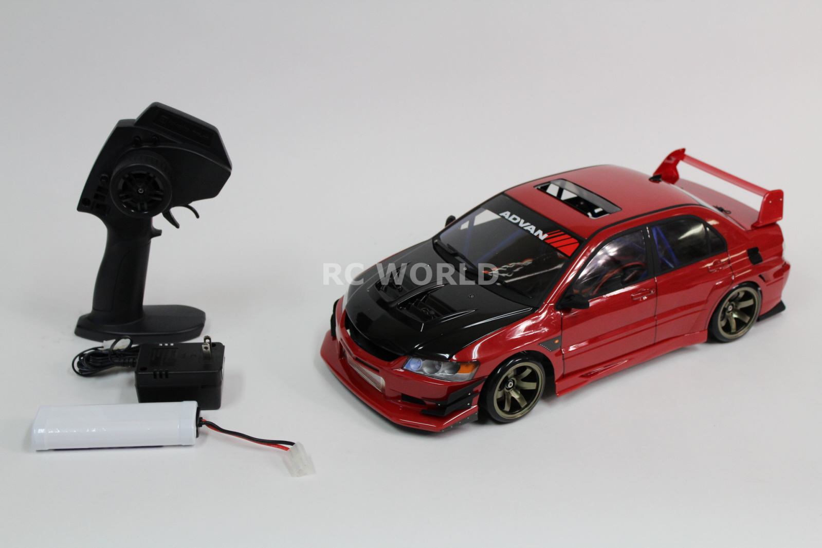 Custom Hpi Rc Drift Car Mitsubishi Evolution Evo W Voltex