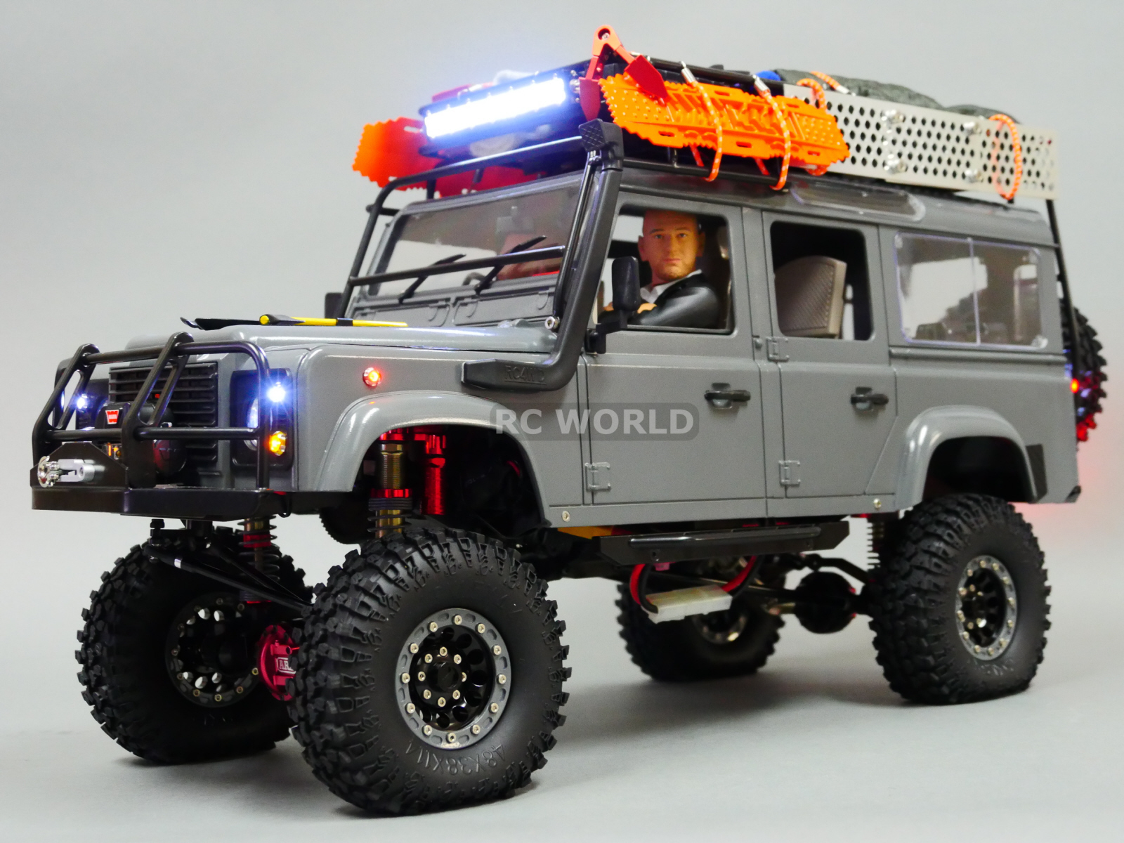 rc4wd 1 10 land rover defender 110 expedition 4x4 w winch. Black Bedroom Furniture Sets. Home Design Ideas