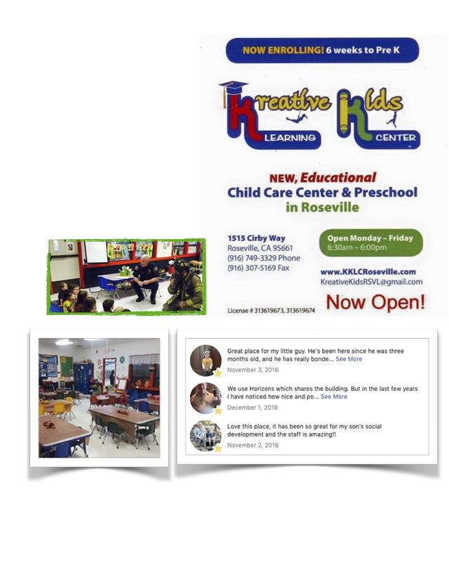 Kreative Kids Learning Center Roseville